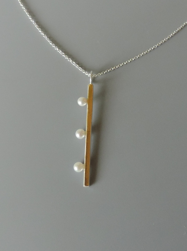 contemporary unique modern jewelry hand made for women pearl necklace bridal jewelry