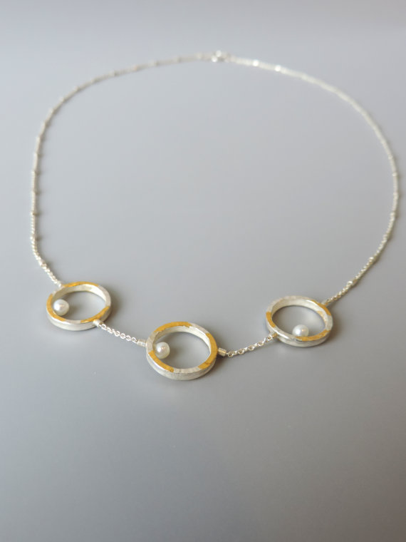 c16dfc1ac9 Fresh water pearl necklace | Unique handmade necklace