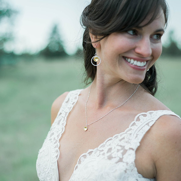 Simple Bridal Jewelry McKenzie Mendel Jewelry