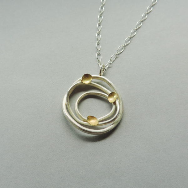 handmade jewelry mixed metal silver and gold handmade for women