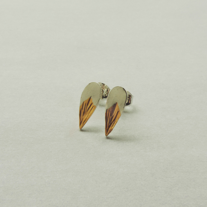 handcrafted silver and gold mixed metal jewelry for women