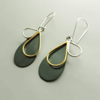 unique handmade earrings women unique modern minimal