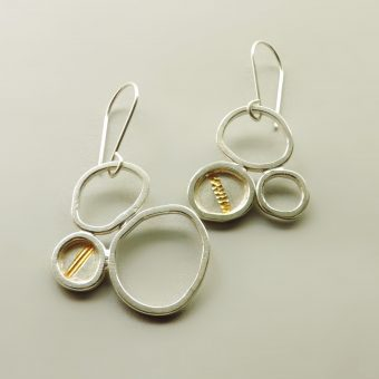 handmade silver gold earrings handmade women
