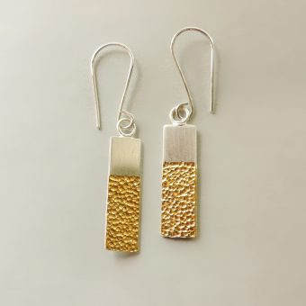 simple handmade earrings unique women everyday wear
