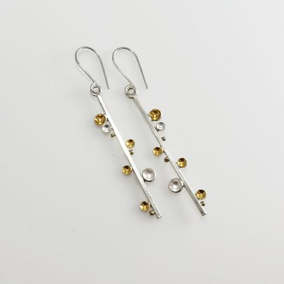 handmade silver gold jewelry earrings