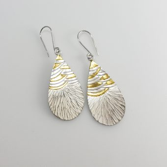 handmade silver gold earrings designed women everyday wear
