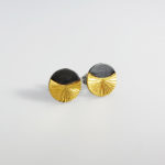 handmade silver gold metal earrings handmade women