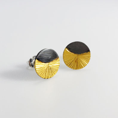 handmade silver and gold posts for women everyday wear