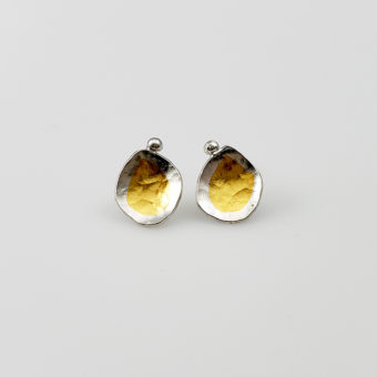 small organic slow fashion studs