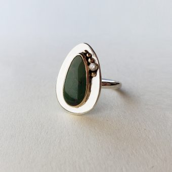 Magpie Ring turquoise